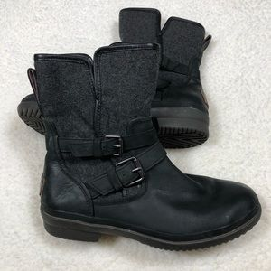 UGG Waterproof Leather/Wool Boots